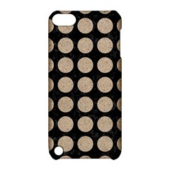 Circles1 Black Marble & Sand (r) Apple Ipod Touch 5 Hardshell Case With Stand