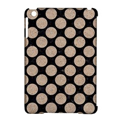 Circles2 Black Marble & Sand (r) Apple Ipad Mini Hardshell Case (compatible With Smart Cover)