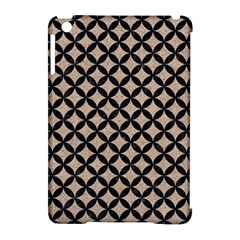 Circles3 Black Marble & Sand Apple Ipad Mini Hardshell Case (compatible With Smart Cover)