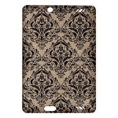 Damask1 Black Marble & Sand Amazon Kindle Fire Hd (2013) Hardshell Case