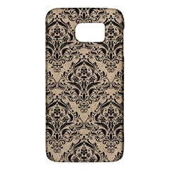 Damask1 Black Marble & Sand Galaxy S6