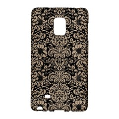 Damask2 Black Marble & Sand (r) Galaxy Note Edge