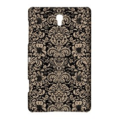 Damask2 Black Marble & Sand (r) Samsung Galaxy Tab S (8 4 ) Hardshell Case