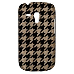 Houndstooth1 Black Marble & Sand Galaxy S3 Mini