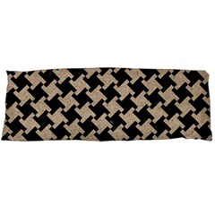 Houndstooth2 Black Marble & Sand Body Pillow Case Dakimakura (two Sides)