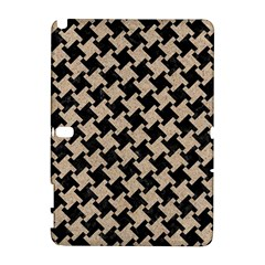 Houndstooth2 Black Marble & Sand Galaxy Note 1