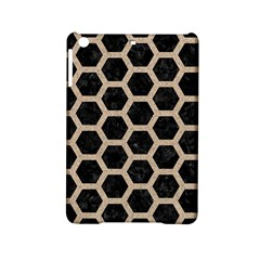 Hexagon2 Black Marble & Sand (r) Ipad Mini 2 Hardshell Cases