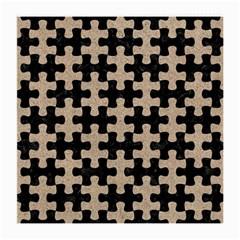 Puzzle1 Black Marble & Sand Medium Glasses Cloth
