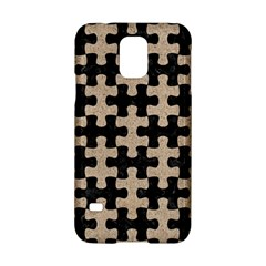 Puzzle1 Black Marble & Sand Samsung Galaxy S5 Hardshell Case
