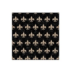 Royal1 Black Marble & Sand Satin Bandana Scarf
