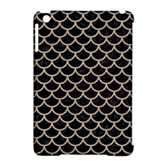 Scales1 Black Marble & Sand (r) Apple Ipad Mini Hardshell Case (compatible With Smart Cover)