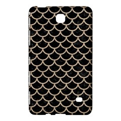 Scales1 Black Marble & Sand (r) Samsung Galaxy Tab 4 (7 ) Hardshell Case