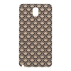 Scales2 Black Marble & Sand Samsung Galaxy Note 3 N9005 Hardshell Back Case