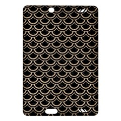 Scales2 Black Marble & Sand (r) Amazon Kindle Fire Hd (2013) Hardshell Case