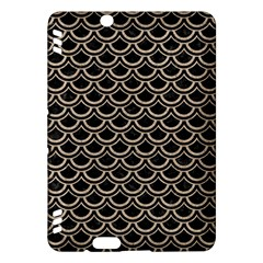 Scales2 Black Marble & Sand (r) Kindle Fire Hdx Hardshell Case
