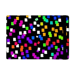 Colorful Rectangles On A Black Background                           Apple Ipad 3/4 Flip Case
