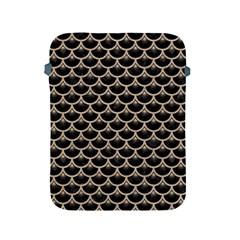 Scales3 Black Marble & Sand (r) Apple Ipad 2/3/4 Protective Soft Cases