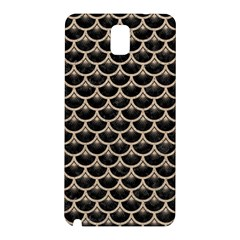 Scales3 Black Marble & Sand (r) Samsung Galaxy Note 3 N9005 Hardshell Back Case
