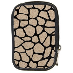 Skin1 Black Marble & Sand (r) Compact Camera Cases