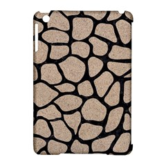 Skin1 Black Marble & Sand (r) Apple Ipad Mini Hardshell Case (compatible With Smart Cover)