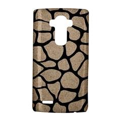 Skin1 Black Marble & Sand (r) Lg G4 Hardshell Case