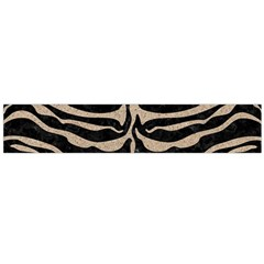 Skin2 Black Marble & Sand (r) Large Velour Scarf