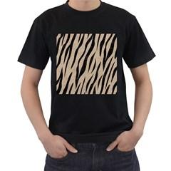 Skin3 Black Marble & Sand Men s T Shirt (black)