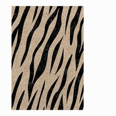 Skin3 Black Marble & Sand Small Garden Flag (two Sides)