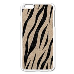 Skin3 Black Marble & Sand Apple Iphone 6 Plus/6s Plus Enamel White Case
