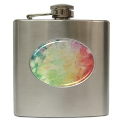 Painted Canvas                                 Hip Flask (6 Oz)