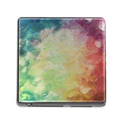 Painted Canvas                                 Memory Card Reader (square)