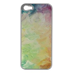 Painted Canvas                           Apple Iphone 5 Case (silver)