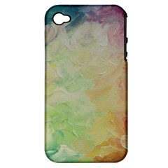 Painted Canvas                           Apple Iphone 3g/3gs Hardshell Case (pc+silicone)