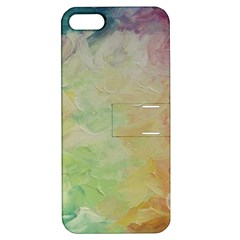 Painted Canvas                           Apple Iphone 4/4s Hardshell Case With Stand
