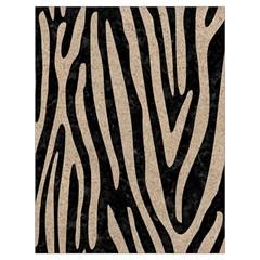 Skin4 Black Marble & Sand Drawstring Bag (large)