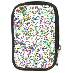 Paint On A White Background                                  Compact Camera Leather Case