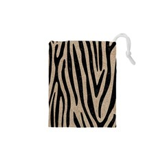 Skin4 Black Marble & Sand (r) Drawstring Pouches (xs)