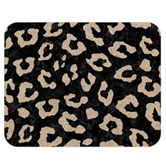 Skin5 Black Marble & Sand Double Sided Flano Blanket (medium)