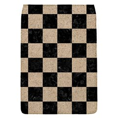 Square1 Black Marble & Sand Flap Covers (s)