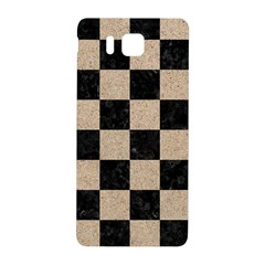 Square1 Black Marble & Sand Samsung Galaxy Alpha Hardshell Back Case