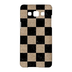 Square1 Black Marble & Sand Samsung Galaxy A5 Hardshell Case