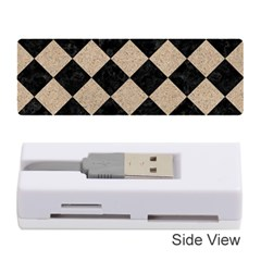Square2 Black Marble & Sand Memory Card Reader (stick)