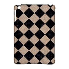 Square2 Black Marble & Sand Apple Ipad Mini Hardshell Case (compatible With Smart Cover)