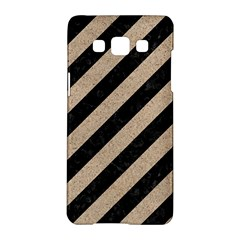 Stripes3 Black Marble & Sand (r) Samsung Galaxy A5 Hardshell Case