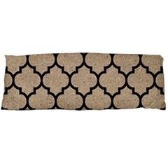 Tile1 Black Marble & Sand Body Pillow Case (dakimakura)