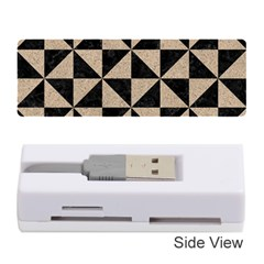Triangle1 Black Marble & Sand Memory Card Reader (stick)