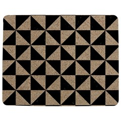 Triangle1 Black Marble & Sand Jigsaw Puzzle Photo Stand (rectangular)