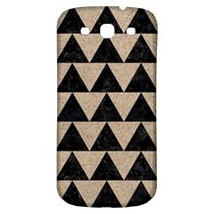 Triangle2 Black Marble & Sand Samsung Galaxy S3 S Iii Classic Hardshell Back Case