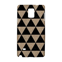 Triangle3 Black Marble & Sand Samsung Galaxy Note 4 Hardshell Case