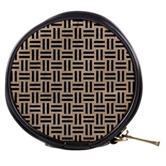 Woven1 Black Marble & Sand Mini Makeup Bags
